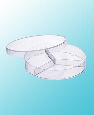 3 Compartment Petri Dish