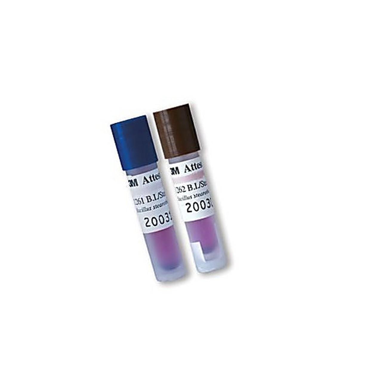 1262   Chỉ thị sinh học 48 giờ 3M™ Attest™ dành cho tiệt khuẩn hơi nước 121°C lò trọng lực và 132°C lò hút chân không.