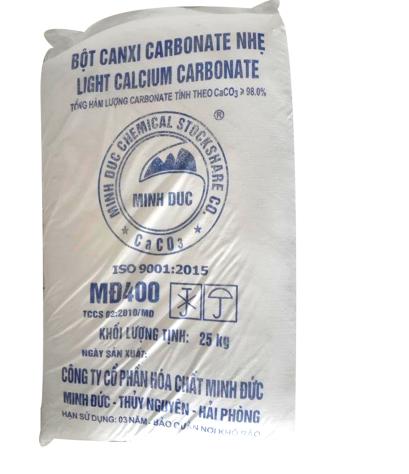 Calcium carbonate CaCO3 (bột đá), Việt Nam, 25kg/bao