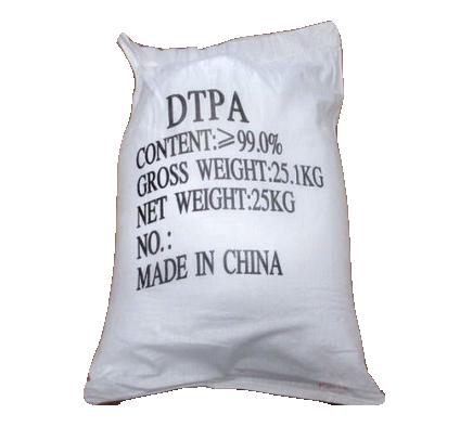 Pentasodium DTPA 99% C14H18N3O10Na5, Trung Quốc, 25kg/bao