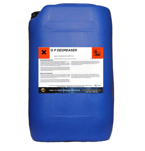 Hóa chất tẩy dầu cho tàu thủy GP Degreaser Vecom, Hà Lan