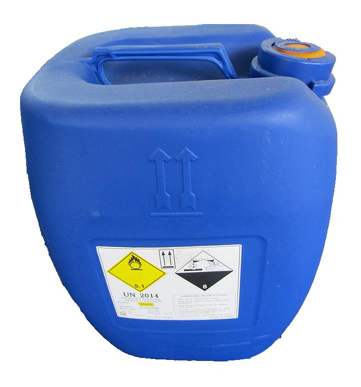 Hydrogen Peroxide H2O2 50%, Hàn Quốc, 30kg/can