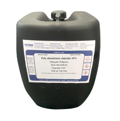 PAC 10%, 17% (Poly Aluminium Chloride lỏng), Việt Nam
