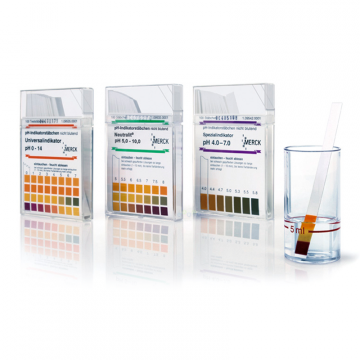 MERCK 109632 pH-indicator Meat pH meter pH 5.2 - 7.2 MColorpHast ™