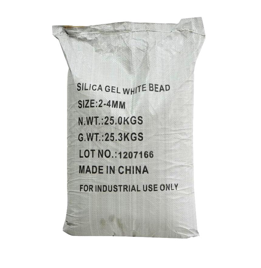 Silicagel SiO2.2H2O 98%, Trung Quốc, 25kg/bao