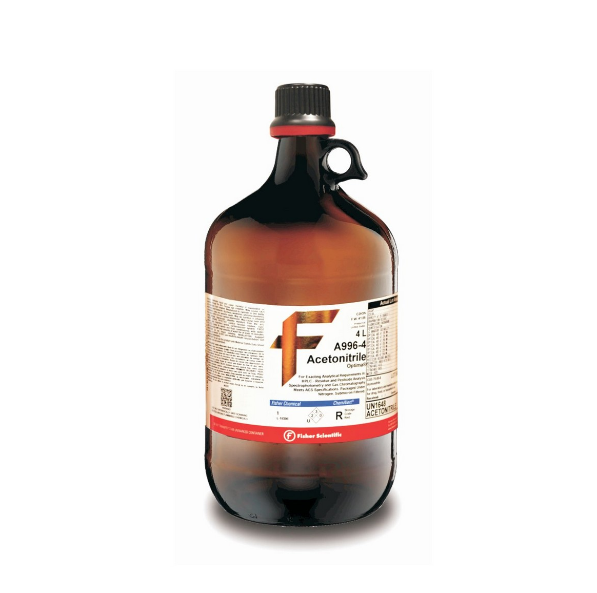 Acetonitrile with 0.05% Trifluoroacetic Acid (TFA), Optima LC/MS, Fisher Chemical