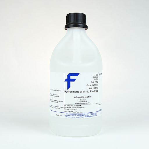 Hydrochloric Acid, Fisher Chemical