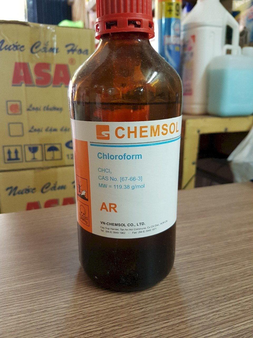 Cồn tinh luyện 96% Chemsol-Việt Nam